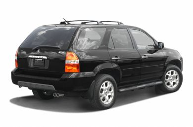 3/4 Rear Glamour  2003 Acura MDX