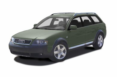 3/4 Front Glamour 2003 Audi allroad