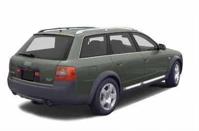 3/4 Rear Glamour  2003 Audi allroad