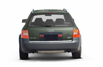 Rear Profile  2003 Audi allroad