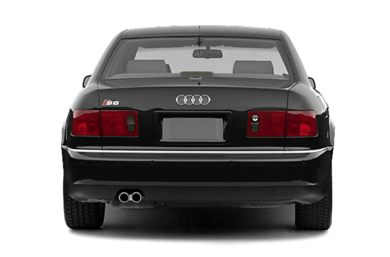 Rear Profile  2003 Audi S8