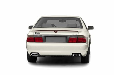 Rear Profile  2003 Cadillac Seville
