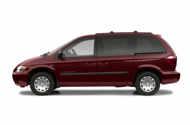 90 Degree Profile 2003 Chrysler Voyager