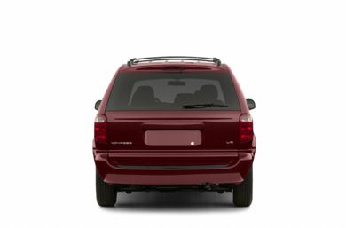 Rear Profile  2003 Chrysler Voyager