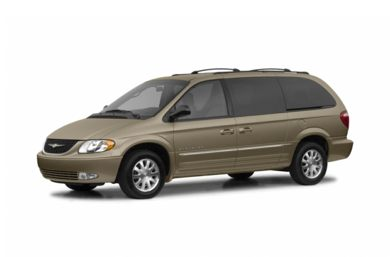 3/4 Front Glamour 2003 Chrysler Town & Country