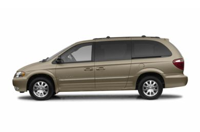 90 Degree Profile 2003 Chrysler Town & Country