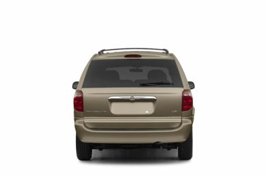 Rear Profile  2003 Chrysler Town & Country