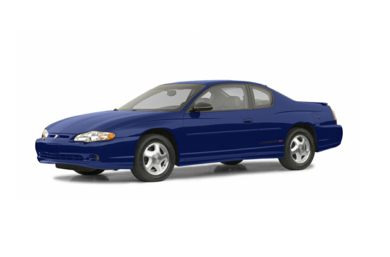 3/4 Front Glamour 2003 Chevrolet Monte Carlo