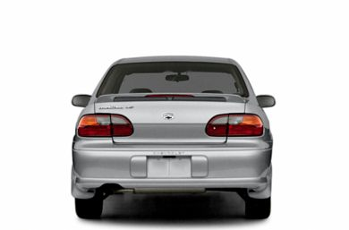 Rear Profile  2003 Chevrolet Malibu