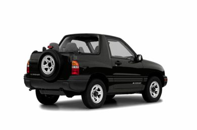 3/4 Rear Glamour  2003 Chevrolet Tracker