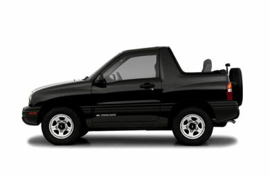 90 Degree Profile 2003 Chevrolet Tracker