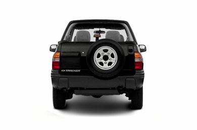 Rear Profile  2003 Chevrolet Tracker