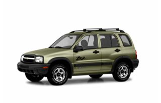 3/4 Front Glamour 2003 Chevrolet Tracker