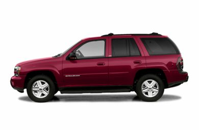 90 Degree Profile 2003 Chevrolet TrailBlazer