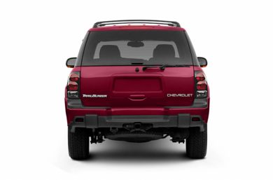 Rear Profile  2003 Chevrolet TrailBlazer
