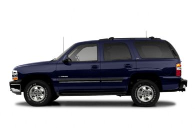 90 Degree Profile 2003 Chevrolet Tahoe