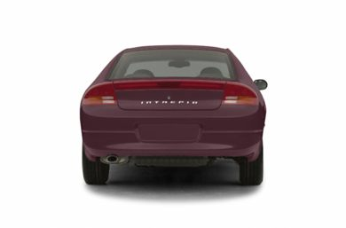 Rear Profile  2003 Dodge Intrepid
