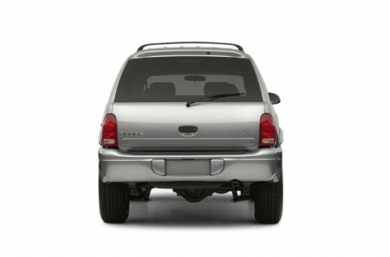 Rear Profile  2003 Dodge Durango