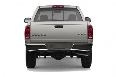 Rear Profile  2003 Dodge Ram 1500