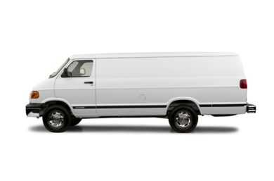90 Degree Profile 2003 Dodge Ram Van 2500