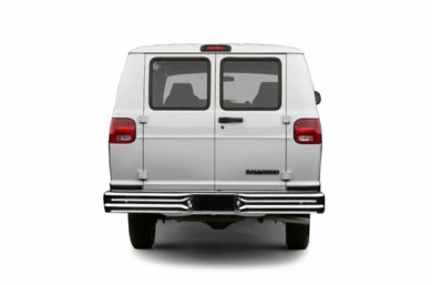Rear Profile  2003 Dodge Ram Van 1500