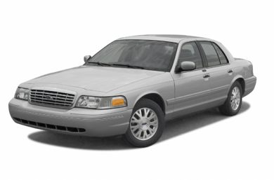 3/4 Front Glamour 2003 Ford Crown Victoria