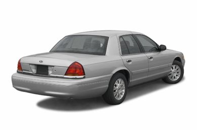 3/4 Rear Glamour  2003 Ford Crown Victoria