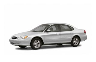 3/4 Front Glamour 2003 Ford Taurus