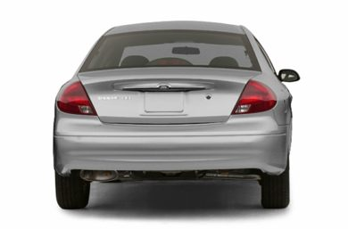 Rear Profile  2003 Ford Taurus