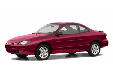 3/4 Front Glamour 2003 Ford ZX2