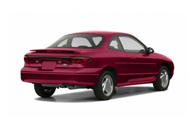3/4 Rear Glamour  2003 Ford ZX2