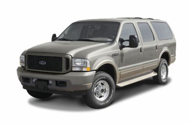 3/4 Front Glamour 2003 Ford Excursion