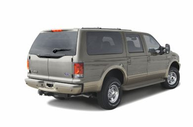 3/4 Rear Glamour  2003 Ford Excursion