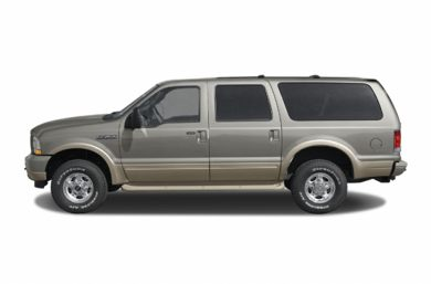 90 Degree Profile 2003 Ford Excursion