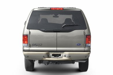 Rear Profile  2003 Ford Excursion