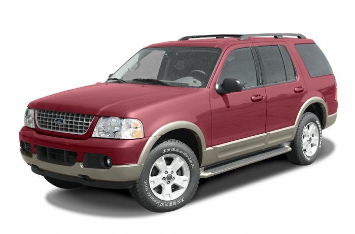 2003 ford explorer specs safety rating mpg carsdirect. Black Bedroom Furniture Sets. Home Design Ideas