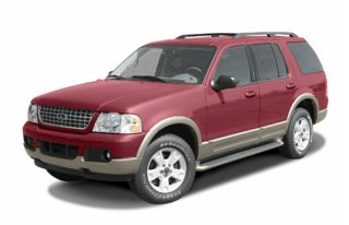 3/4 Front Glamour 2003 Ford Explorer