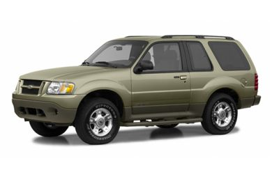3/4 Front Glamour 2003 Ford Explorer Sport