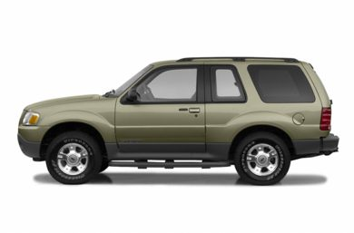 90 Degree Profile 2003 Ford Explorer Sport