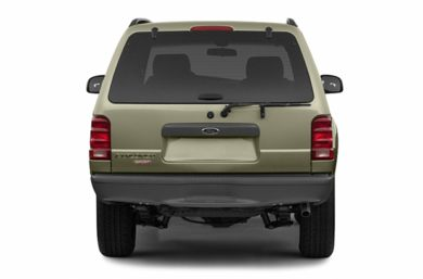 Rear Profile  2003 Ford Explorer Sport