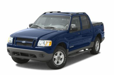 3/4 Front Glamour 2003 Ford Explorer Sport Trac