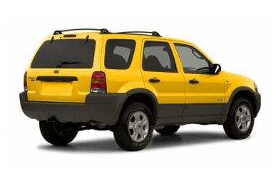 3/4 Rear Glamour  2003 Ford Escape