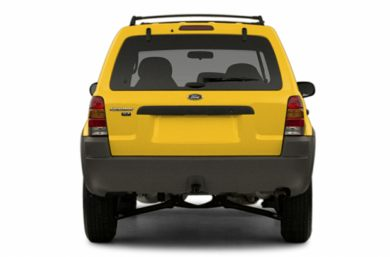 Rear Profile  2003 Ford Escape