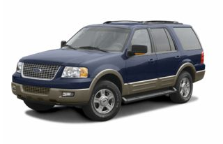 3/4 Front Glamour 2003 Ford Expedition