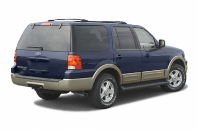 3/4 Rear Glamour  2003 Ford Expedition