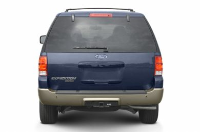 Rear Profile  2003 Ford Expedition