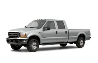 3/4 Front Glamour 2003 Ford F-250