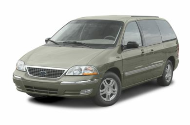3/4 Front Glamour 2003 Ford Windstar