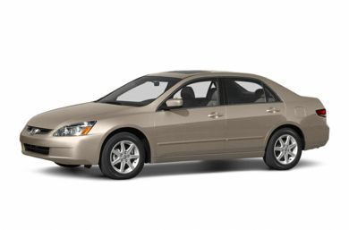 3/4 Front Glamour 2003 Honda Accord