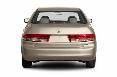 Rear Profile  2003 Honda Accord